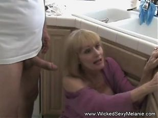 Fucking Granny In The Kitchen