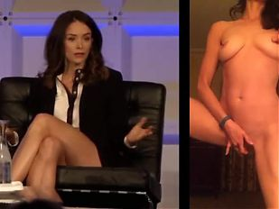 Abigail Spencer Masturbation Splitscreen!