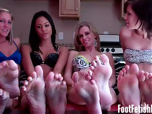 We will take you to foot fetish heaven