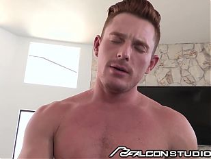 FalconStudios JJ Knight on Top of Brent Corrigan