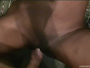 Ebony chick gets fucked