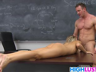 Schoolgirl Kiara Knight gets punished