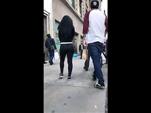 Most Amazing Candid VPLBubble  Ass I've Ever Seen  LS2