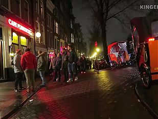 Amsterdam Red Light District - Hidden Camera!