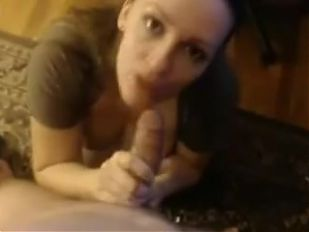 Amateur Big Tits Webcam Blowjob and Cumshot